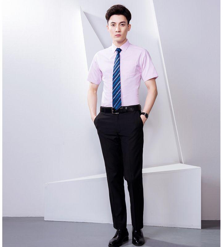 男装直筒长裤商务休闲上班大码西装裤