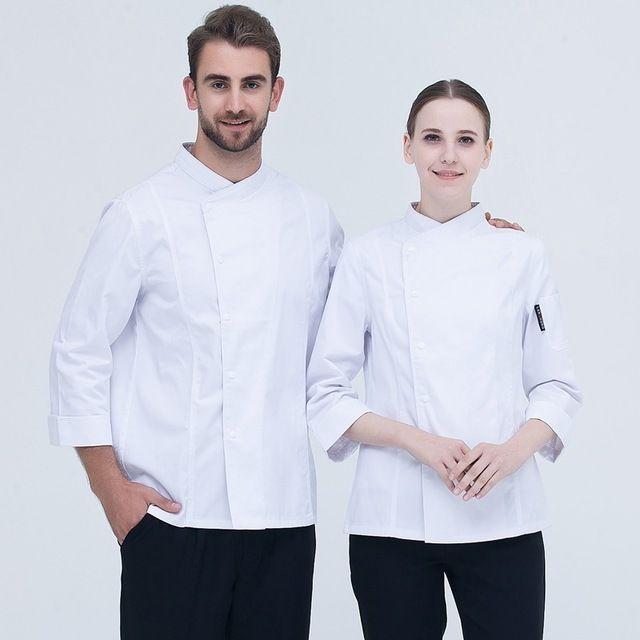酒店厨师东莞工作服 长袖秋冬装 男西餐厅厨房后厨东莞工装制服