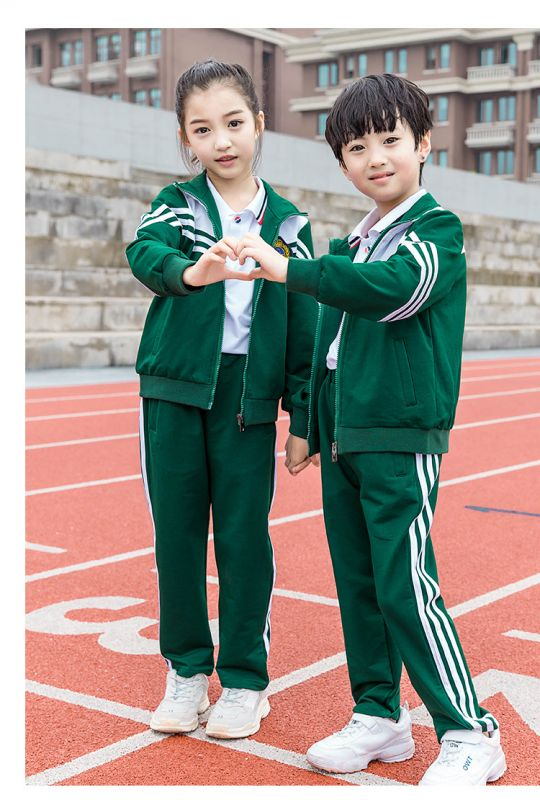 秋季新款幼儿园园服 新款小学生儿童班服 英伦风套装中套装