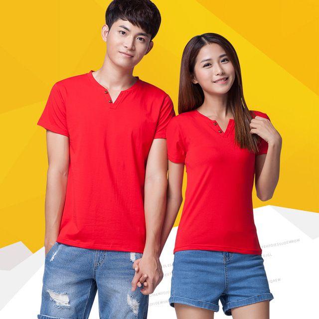 定制班服夏季短袖 t恤定做 奥戴尔文化广告衫 工作团体服定制logo